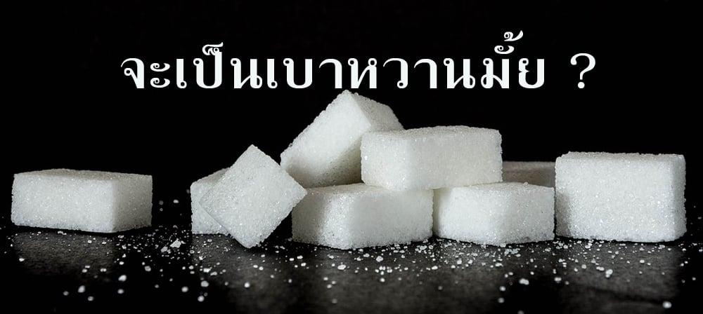 น้ำตาล น้ำตาลก้อน น้ำตาลทราย กินน้ำตาลมากๆมีโอกาสเป็นเบาหวานหรือไม่