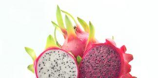 แก้วมังกร (Fresh dragon fruit)
