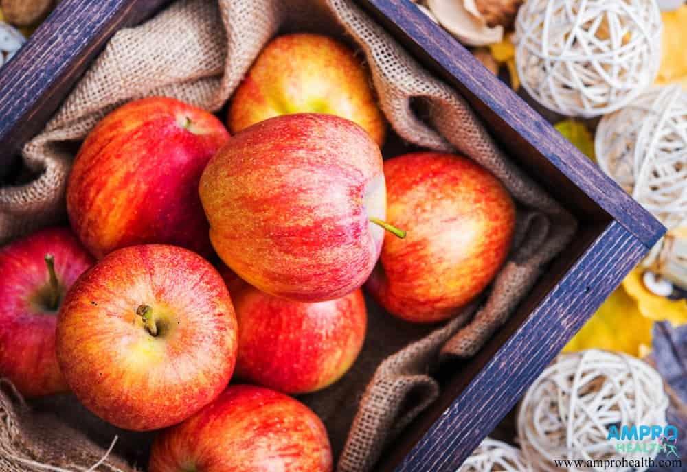 สารเพคตินและใยอาหารในแอปเปิ้ล
