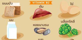 บทบาทหน้าที่ของวิตามินบี 2 (Riboflavin – Vitamin B2)