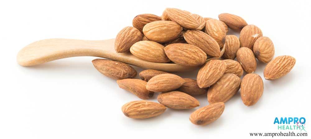 อัลมอนด์มีแคลเซียมสูงขนาดไหนกันนะ? (Almonds)