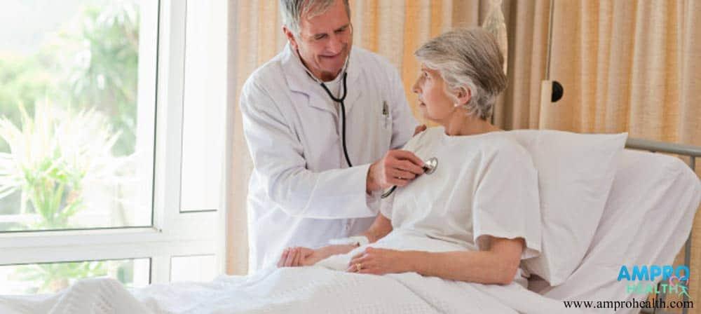 การตรวจวินิจฉัยเพื่อประเมินสุขภาพของผู้ป่วย