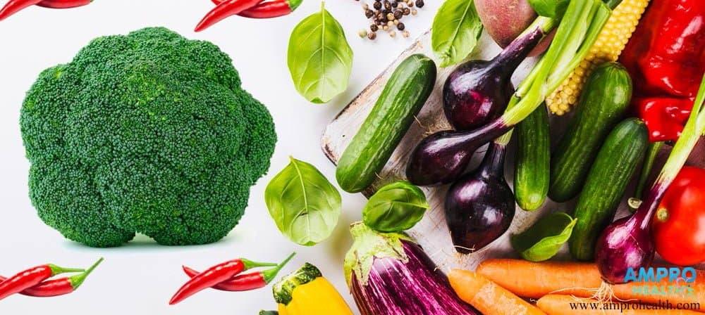 คุณค่าสารอาหารจากผัก 100 กรัมส่วนที่กินได้