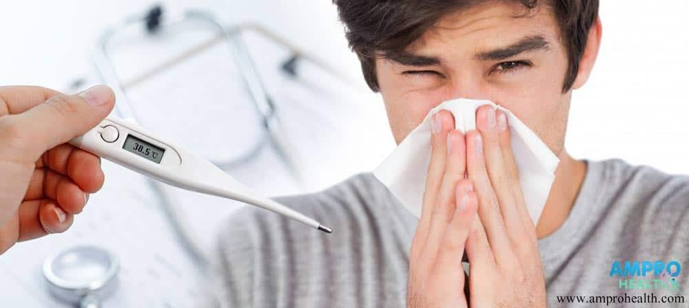 การเป็นไข้หวัดเกิดจากภูมิคุ้มกันต่ำลง