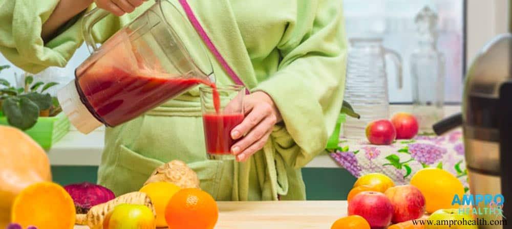 น้ำผลไม้สดปั่น แหล่งรวมวิตามินและแร่ธาตุที่จำเป็น