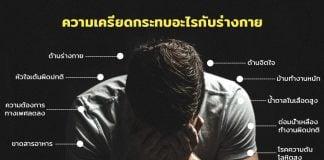 ความเครียดมีผลกระทบต่อร่างกาย