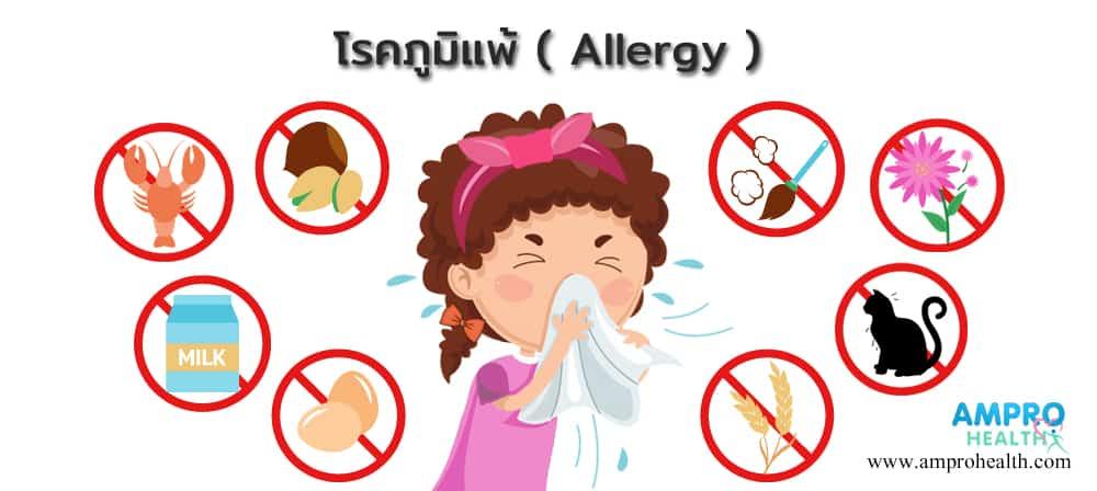 โรคภูมิแพ้ ( Allergy )